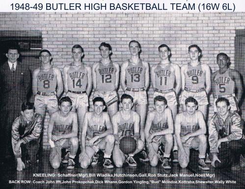1948-49 boys team